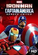 Homem de Ferro e Capitão América: Super-Heróis Unidos (DUB)